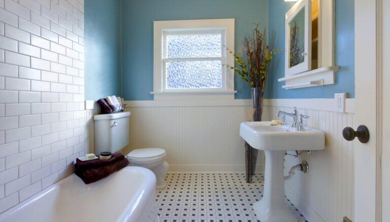 Sliņķu rokasgrāmata: spodrība vannasistabā tikai 10 minūtēs