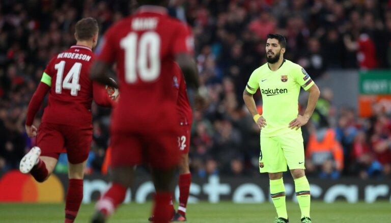 Suaress pēc 'Barcelona' nenosargātā trīs vārtu pārsvara: tas ir neaptverami