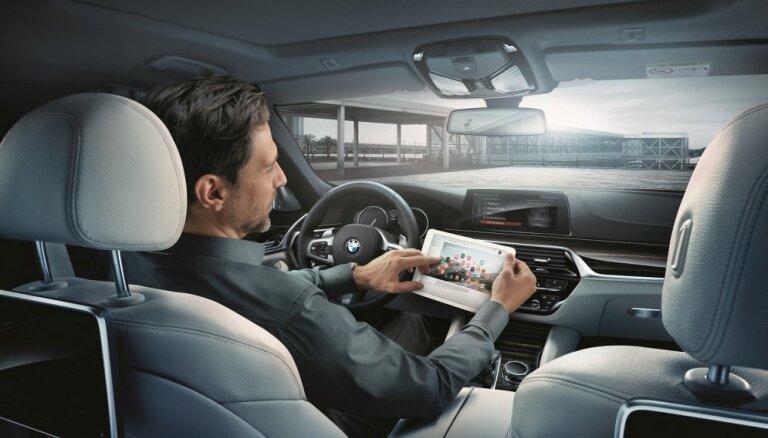 BMW aplikācija arī Latvijā ļaus izmantot pakalpojumus virtuālajā vidē