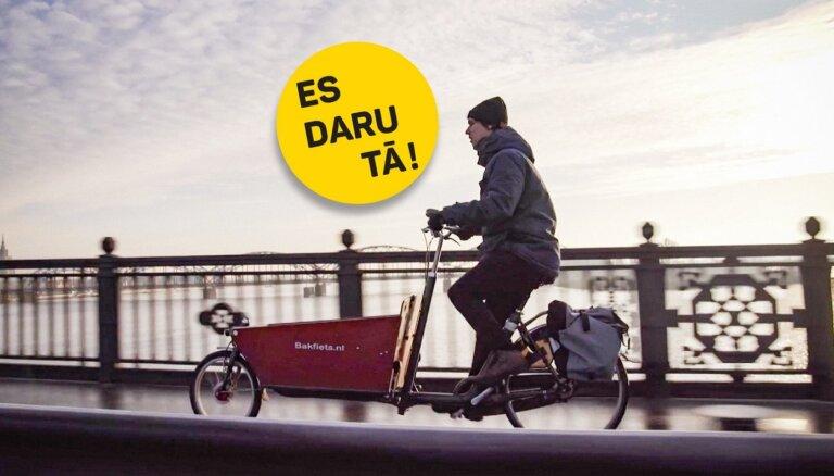 Video: Pilsētplānotājs Oto Ozols un viņa ikoniskās velokastes stāsts