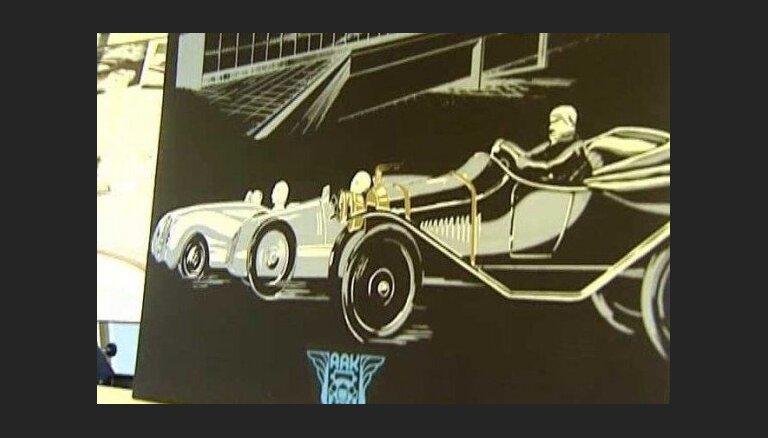 Auto plakātu izstāde Motormuzejā