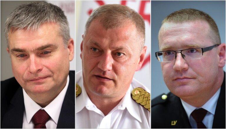 Valsts policijas priekšnieka amatam virza Grūbi, Grišinu un Šulti