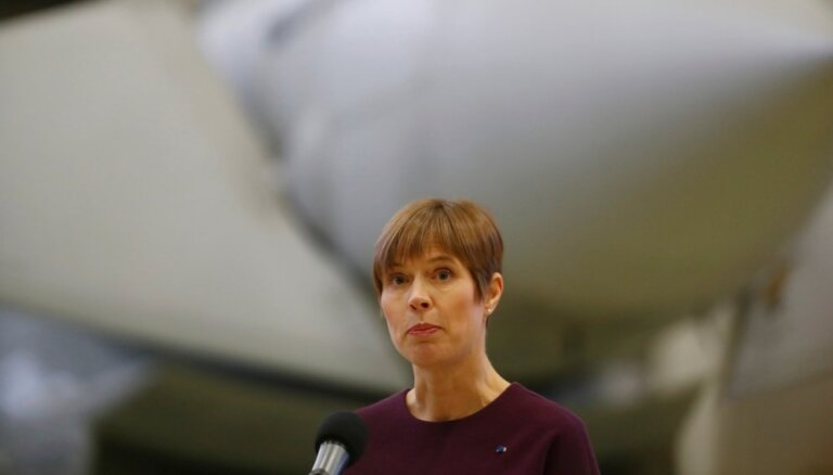 Kaljulaida aicina viņas un Putina gaidāmo tikšanos nesaistīt ar slēptiem nolūkiem