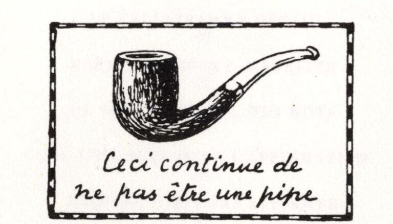 Latviski izdota Mišela Fuko eseja 'Šī nav pīpe'