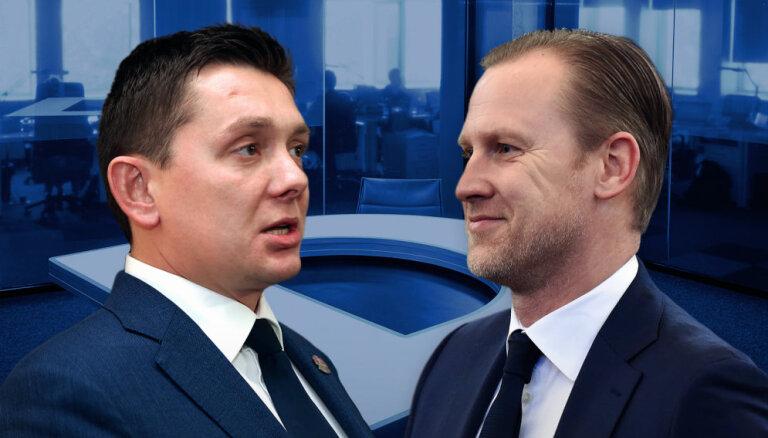 'Delfi TV ar Jāni Domburu': Kas notiek ar 'KPV LV'? Atbildēt aicināti Gobzems un Kaimiņš