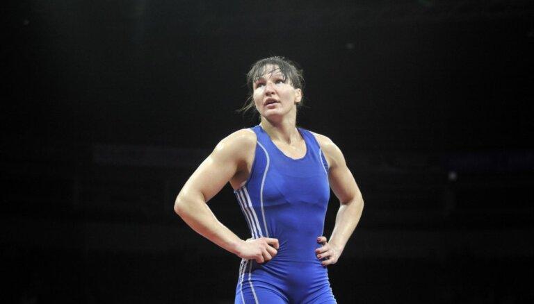 Cīkstone Grigorjeva atgriešanās sacensībās apstājas pie Eiropas čempionāta fināla sliekšņa