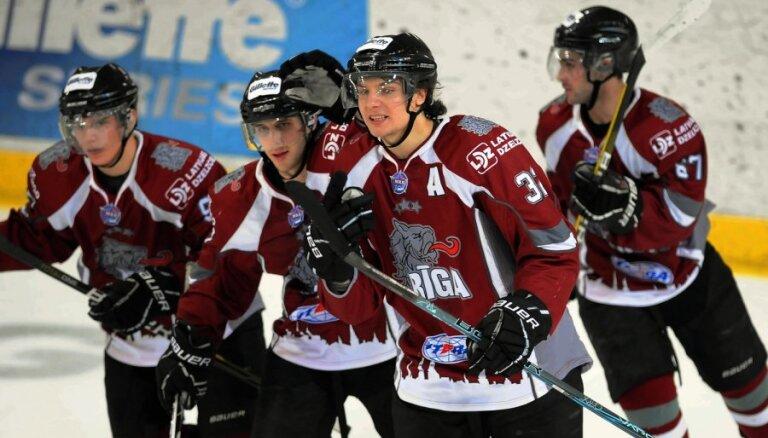 HK 'Rīga' Minskā atsāk uzvaru sēriju