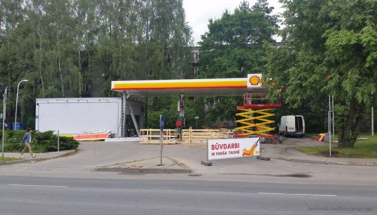Shell втихую возвращается на рынок Латвии спустя 13 лет