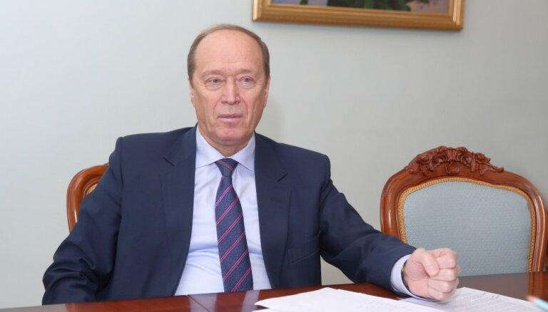 Vešņakovs par sankcijām – tās dzeļ Krievijai, bet griež Latvijai