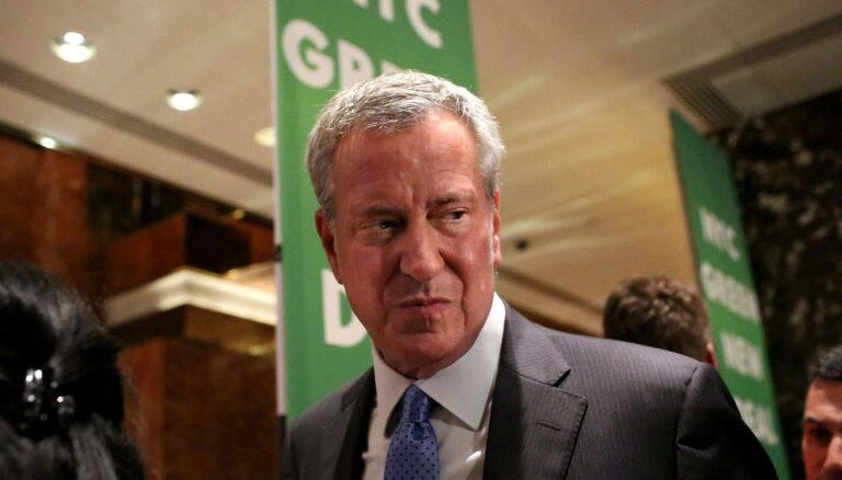 Ņujorkas mērs de Blasio kandidēs uz ASV prezidenta amatu