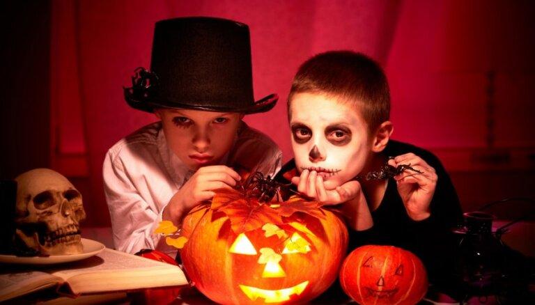 Spocīgas idejas bērna Helovīna kostīmam