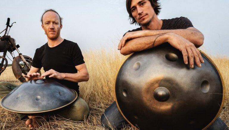 Rīgā atgriežas henga bungu duets 'Hang Massive'