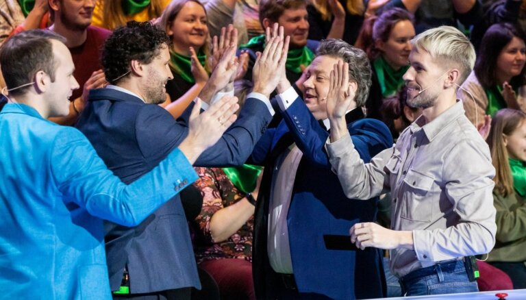Foto: TV ekrānos atgriežas jestrais erudīcijas šovs 'Es mīlu tevi, Latvija'