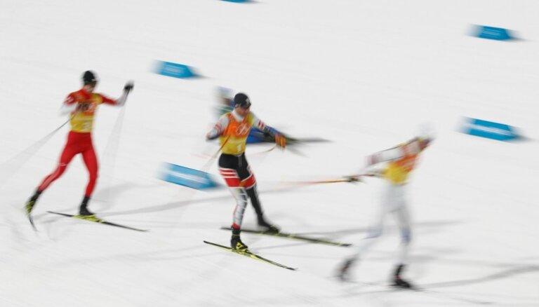 XXIII Ziemas olimpisko spēļu rezultāti Ziemeļu divcīņā komandu sacensībās (22.02.2018.)