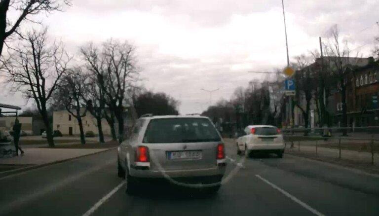 Veikls braucējs Liepājā