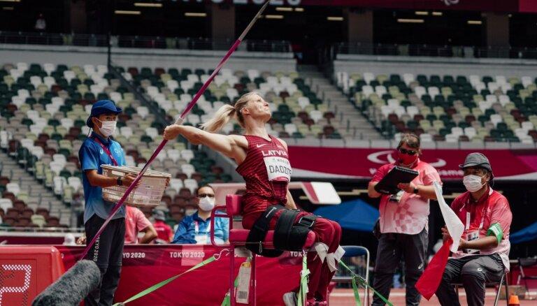 Дадзите завоевала вторую медаль на Паралимпийских играх в Токио