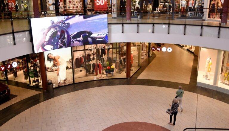 Tirdzniecības centros esošajos veikalos nebūs ļauta distances tirdzniecībā iegādātu preču izsniegšana