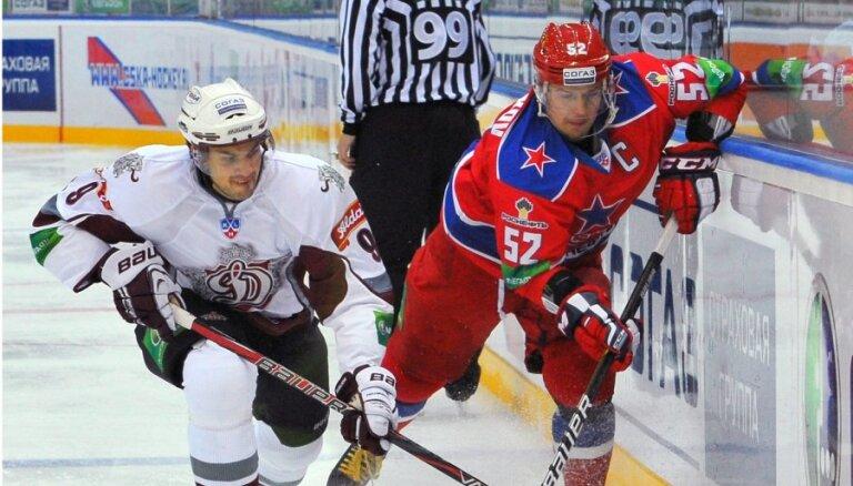 Динамовцы Риги дважды отыгрывались с ЦСКА, в третий раз не удалось