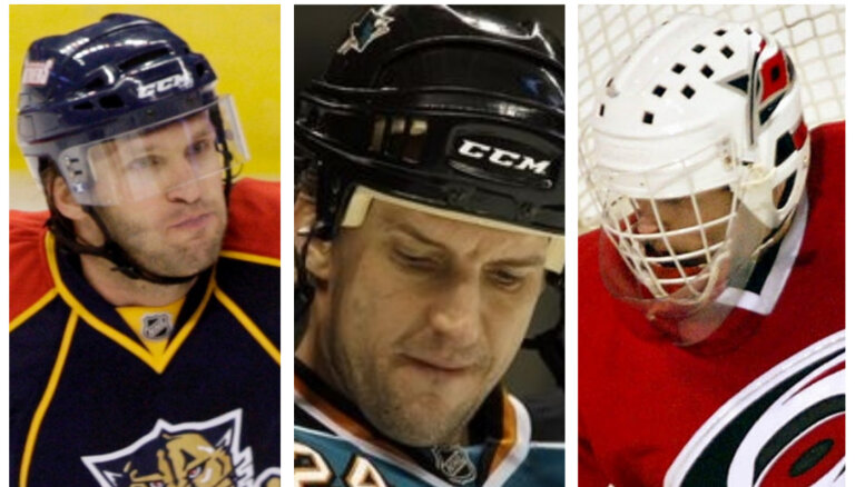 Latvijas hokeja labākie – TOP 10 latvieši NHL