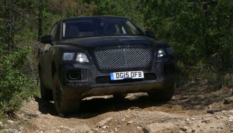 'Bentley Bentayga' apvidus auto pārgājības spējas
