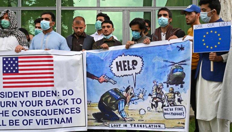 ASV sola aizsargāt afgāņu tulkus; 18 000 pieteikušies vīzām