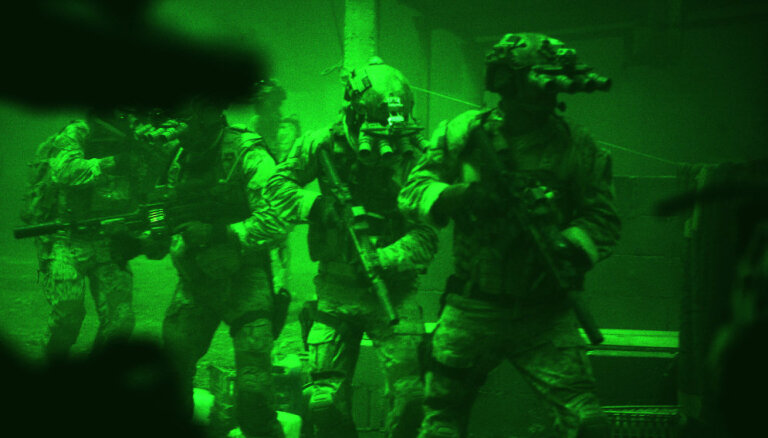 Со складов Национальных вооруженных сил Латвии украли приборы ночного видения