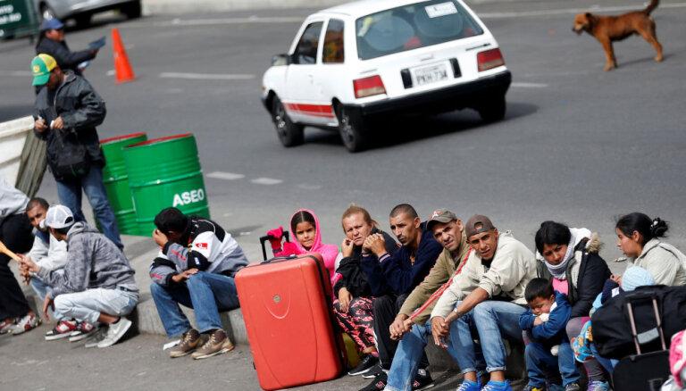 Brazīlija nosūtīs papildspēkus uz Venecuēlas robežu, kur pieaug spriedze saistībā ar migrantiem