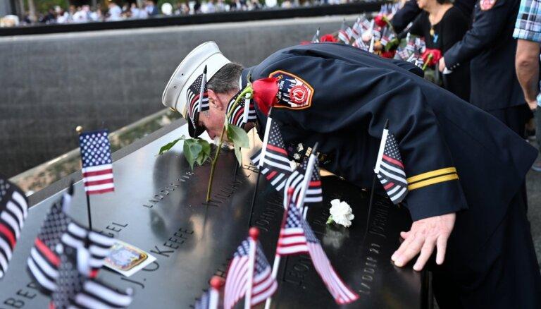 ASV piemin 11. septembra teroraktu 20. gadadienu