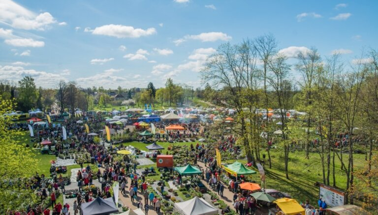 4 и 5 мая в Сигулде пройдет Латвийский парад саженцев