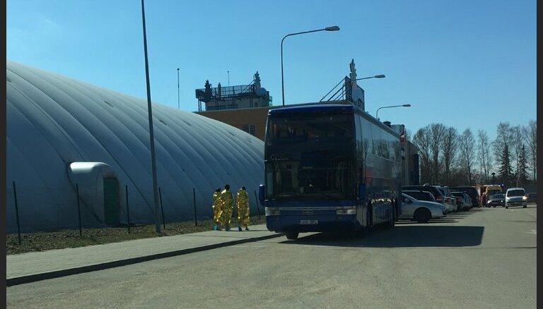 Sadūmojuma dēļ no 'Līvu akvaparka' evakuē cilvēkus