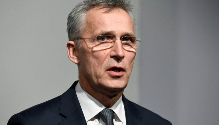 NATO ģenerālsekretārs mudina palielināt medicīniskās rezerves