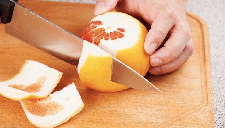 Palīgs mājas darbos – aromātiskais greipfrūts