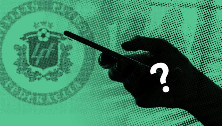 Futbola intrigas: kurš slepus ieraksta federācijas valdes sēdes?
