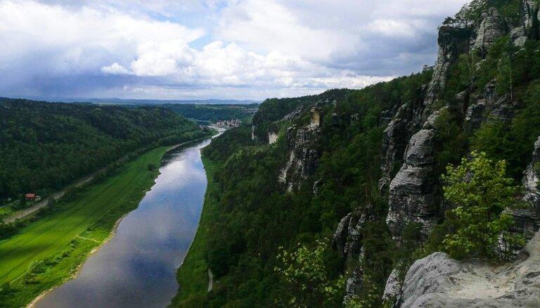 Klintis un rūķīšu meži jeb Kā es braucu Saksijas Šveici lūkoties