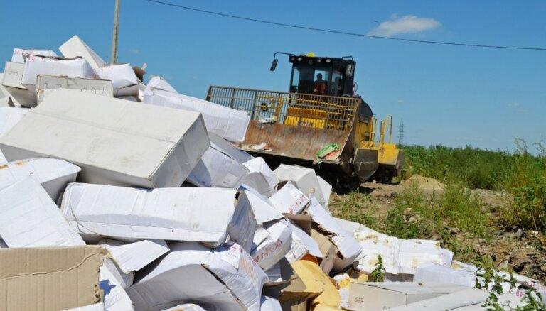В России за два года уничтожили 17 тысяч тонн санкционных продуктов
