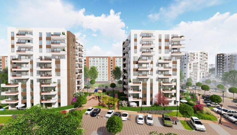 ФОТО: Контролируемый израильскими акционерами девелопер построит жилые десятиэтажки в Плявниеках