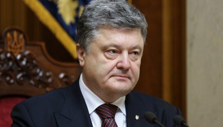 Порошенко призвал страны НАТО направить корабли в Азовское море