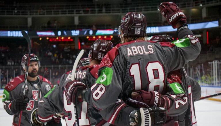 Хоккей: Во втором матче отбора на Олимпиаду Латвия разгромила Венгрию 9:0