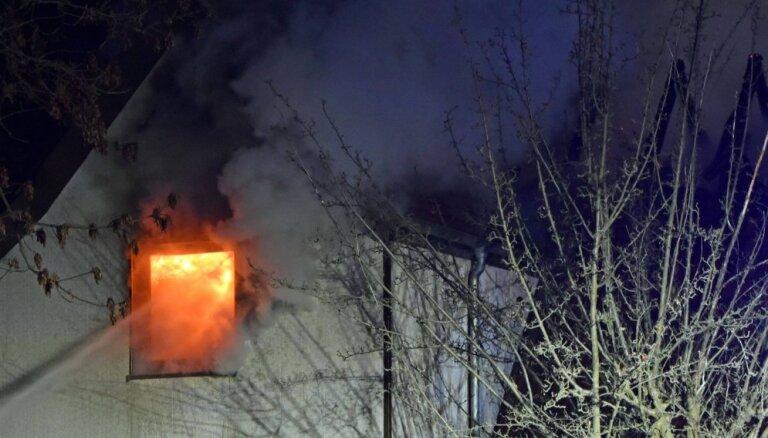 В Ропажском крае сгорел дом: погиб один человек