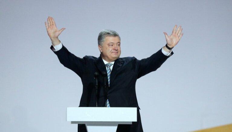Porošenko kandidēs uz otro termiņu Ukrainas prezidenta amatā