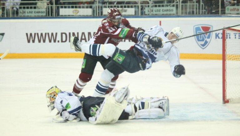 Rīgas 'Dinamo' pārliecinoši apspēlē problēmu mākto 'Amur'