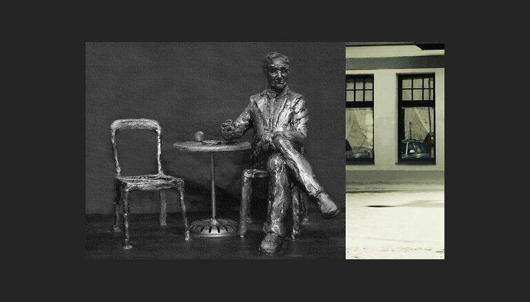 Ēvalda Valtera pieminekli bronzā plāno atliet līdz gada beigām