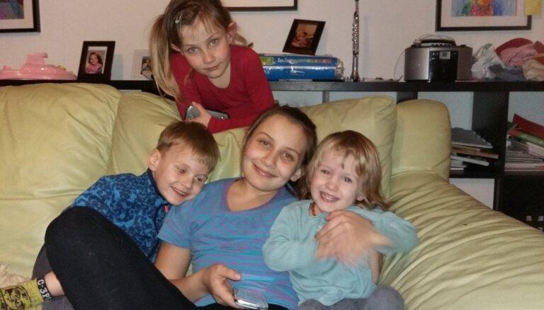 Trīs daudzbērnu ģimenes un viņu stāsti par gatavošanos skolai