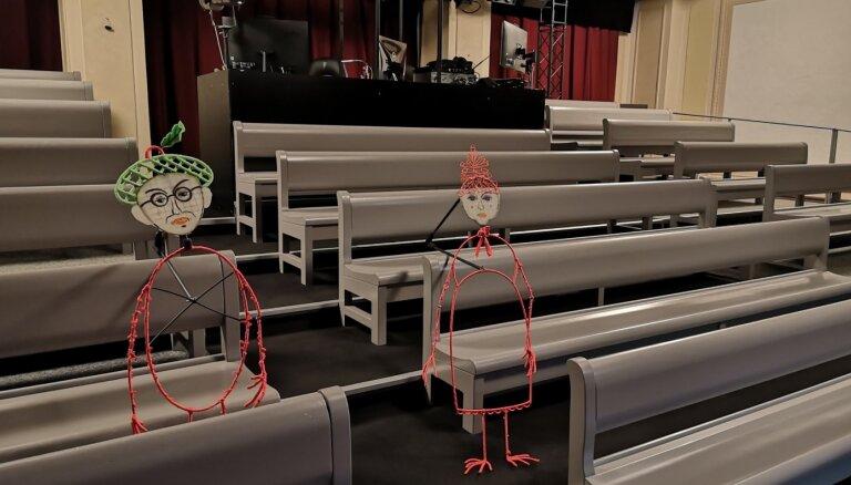 Leļļu teātrim būs jauns spēles laukums – Kamīnzāle Rīgas Latviešu biedrības namā