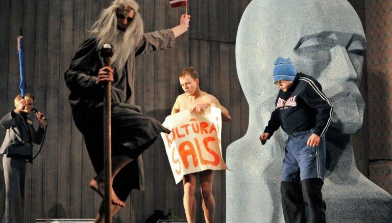 Foto: 'Raiņa sapņi' Nacionālajā teātrī