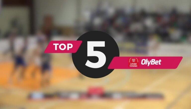 Video: 'OlyBet' basketbola līgas nedēļas burvīgākās epizodes