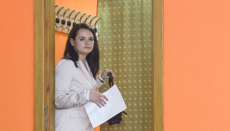 Светлана Тихановская записала видеообращение после отъезда из Беларуси