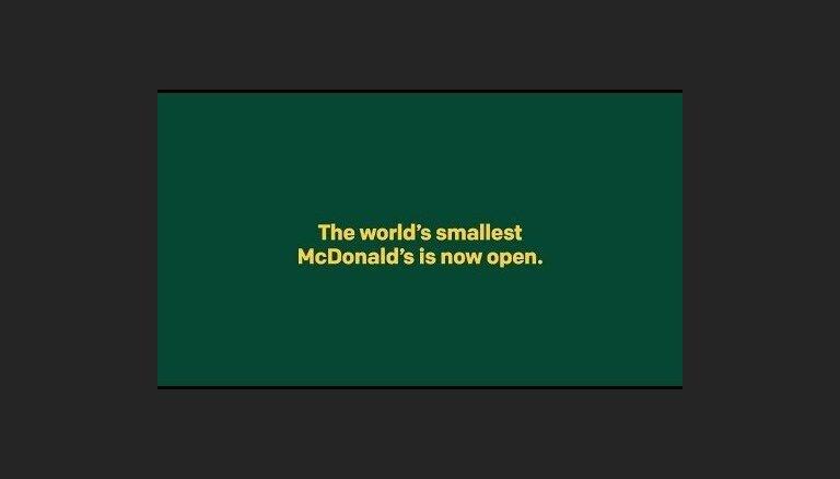 ФОТО, ВИДЕО. В Швеции построили McDonald's для пчел