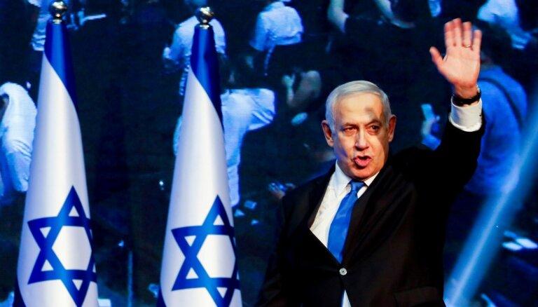 Izraēlas prezidents valdības veidošanu uztic Netanjahu