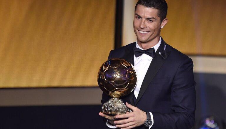 Криштиану Роналду второй год подряд признается футболистом №1